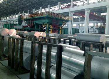 工业铝型材生产线